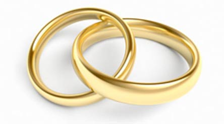 Financial Advice Marry someone you love and save Gold rings