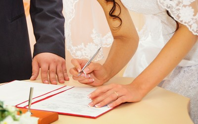 Update your records when you get married